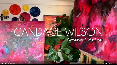 Candace Wilson interview re healing paintings at Toronto Western Hospital